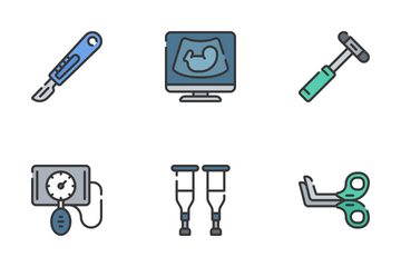 Medical - Soft Fill Icon Pack