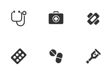 Medical Solid Icon Pack