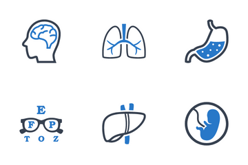 Medical Specialties Icon Pack