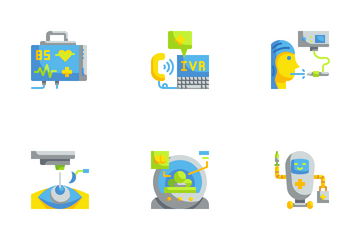 Medical Technology Icon Pack