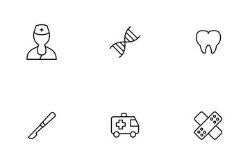 Medical Thinline Icon Pack