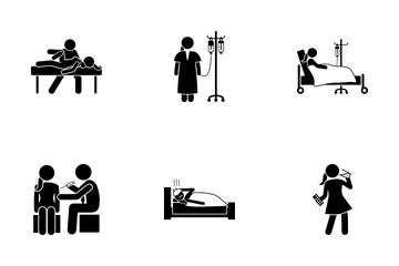 Medical Treatment Icon Pack