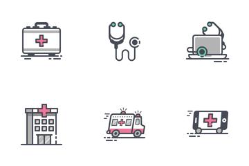 Medicine & Healthcare Icon Pack