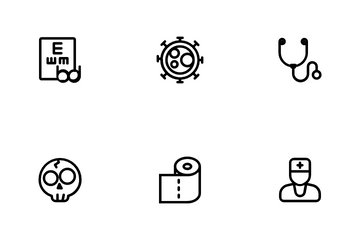 Medicine Hospital Icon Pack