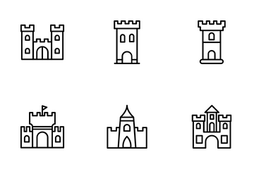 Medieval Castles Icon Pack