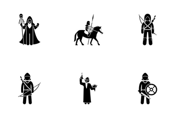 Medieval Character Icon Pack
