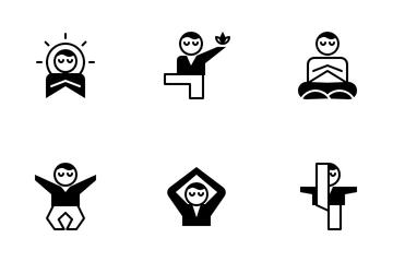 Meditation Icon Pack