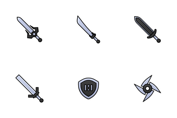 Melee Weapon Icon Pack
