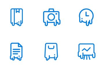 Melting  Icon Pack