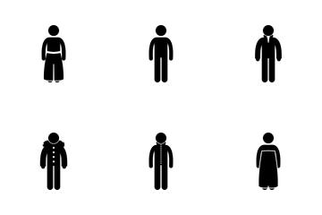 Men Clothes Icon Pack
