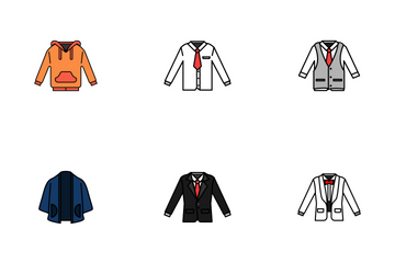 Men Clothes Icon Pack