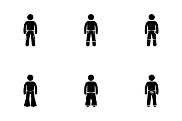 Men Trousers Icon Pack