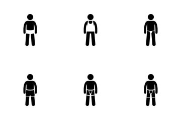 Men Underwear Icon Pack