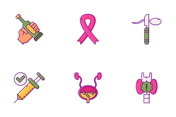 Men Women Health Icon Pack