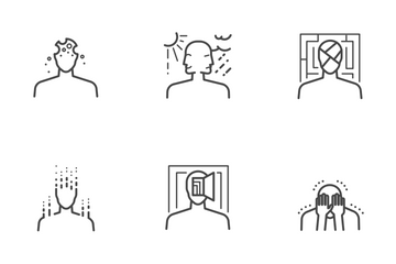 Mental Disorder Icon Pack