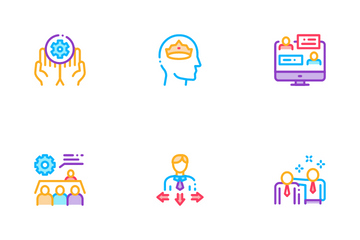 Mentor Relationship Icon Pack