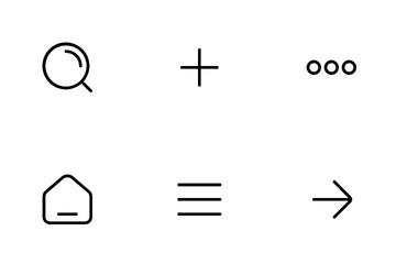 Menu & Control Icon Pack