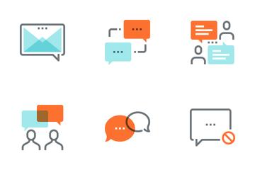 Message Bubbles Icon Pack