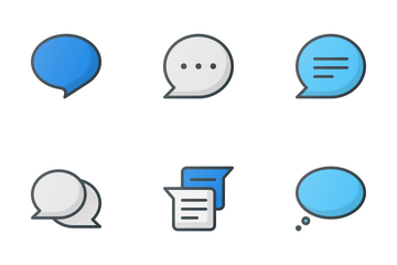 Messages & Chat Icon Pack