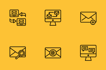 Messaging & Communications Icon Pack