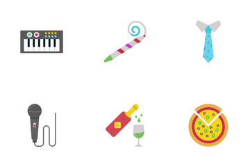 Mexican Party Icon Pack