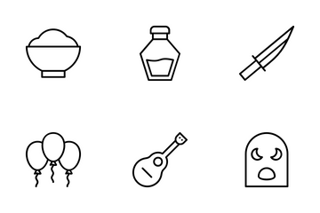 Mexico Symbols Icon Pack