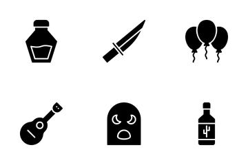 Mexico Symbols Icon Pack