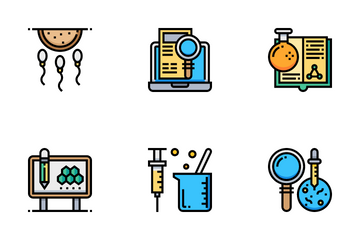 Microbiology Icon Pack