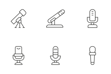 Microphone Icon Pack