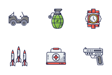 Military & Army Icon Pack