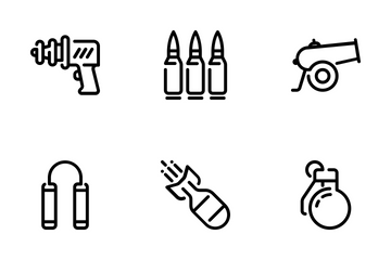 Military Icons Icon Pack