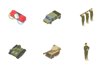 Military Special Forces, Army Icon Pack
