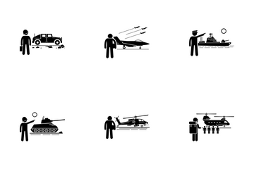 Military Vehicle Icon Pack