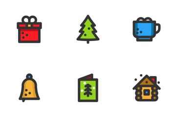 Minimalist Christmas Icon Pack