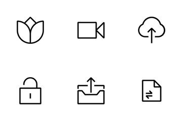 Minimalist Essential Icon Icon Pack