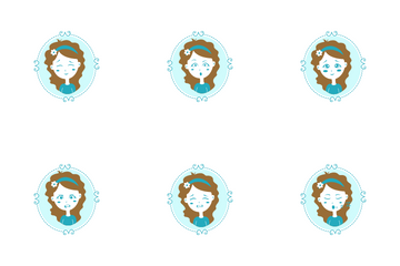 Mirror Girl Icon Pack