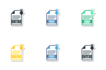 Misc File Formats Icon Pack