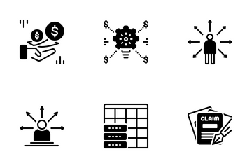 Miscellaneous 12 Solid Icon Pack
