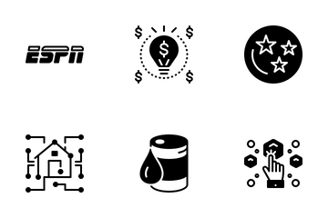 Miscellaneous 13 Solid Icon Pack