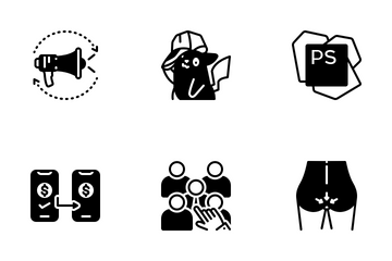 Miscellaneous 15 Solid Icon Pack