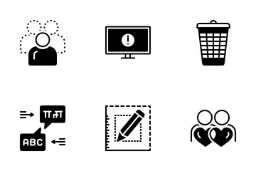 Miscellaneous 16 Solid Icon Pack