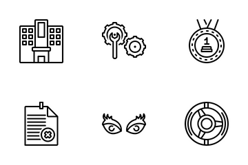 Miscellaneous 26 Line Icon Pack