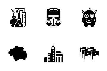 Miscellaneous 283 Solid Icon Pack