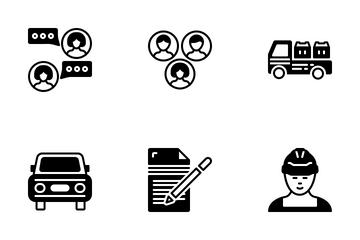 Miscellaneous 30 Solid Icon Pack