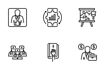 Miscellaneous 319 Line Icon Pack