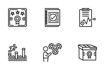 Miscellaneous 36 Line Icon Pack