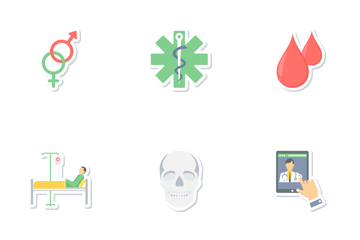 Medical And Education Mix Icon Pack