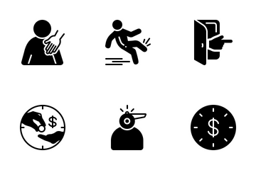 Miscellaneous 8 Solid Icon Pack