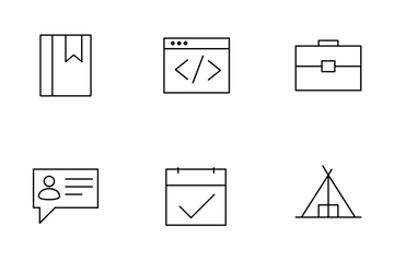 Mix Line Icons V1 Icon Pack