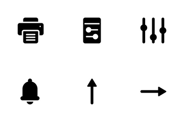 Mixed Communication And UI Pack Icon Pack